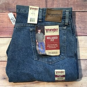 Mens Wrangler Rugged Wear Relaxed Fit Jeans 42x30